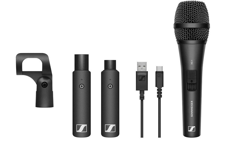 Sennheiser XSW D Wireless Microphone Vocal Set
