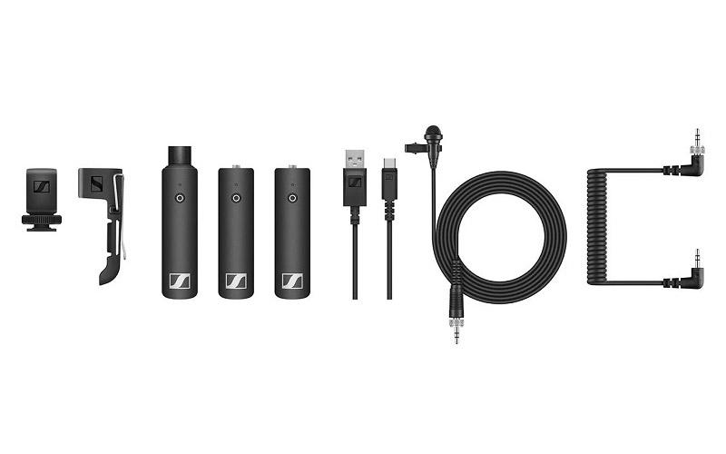 Sennheiser XSW D Wireless Microphone Portable Lapel Mic Setup Eng Set