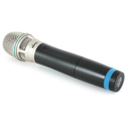 Handheld Transmitter with Condenser Microphone Capsule