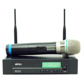 Handheld Wireless Mic Package with Single-channel Receiver