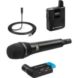 AVX Wireless Combo Lavalier & Handheld mic Set