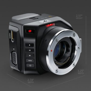 Micro Cinema Camera - MFT mount