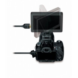 "5"" Widescreen WVGA LCD Monitor for DSLR"