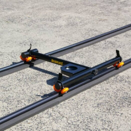 Lightweight Portable Track Dolly System