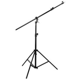 2.9m 2 in 1 Convertible Light Stand with Self-Telescoping Boom Arm