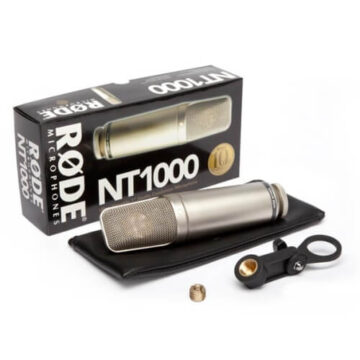 Versatile Studio Condenser Microphone