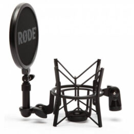 Shock Mount with Detachable Pop Filter