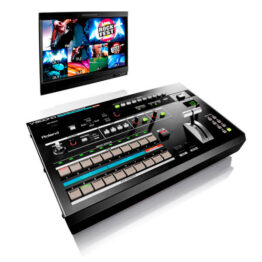 8-Channel Multi-format AV Switcher with Built-in Multiviewer