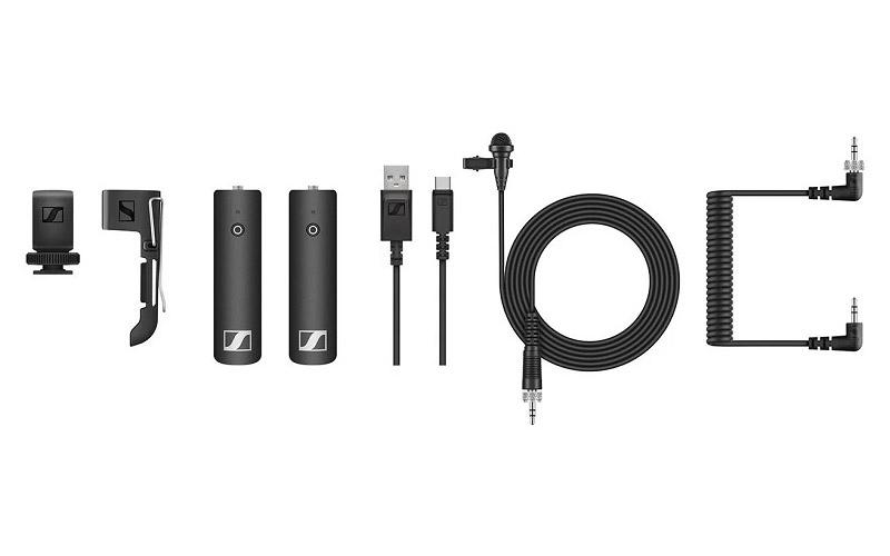 Sennheiser XSW D Wireless Microphone Portable Lavalier Microphone Set