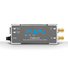 AJA Fido-2T-Single-Mode LC Fiber Transmitter