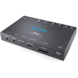AJA HELO Streaming And Recording Device Hero Image