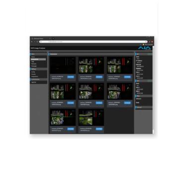 AJA Image Analyser User Interface