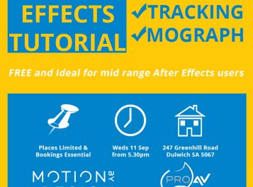 After Effects Tutorial - VFX, Tracking And Mograph FREE