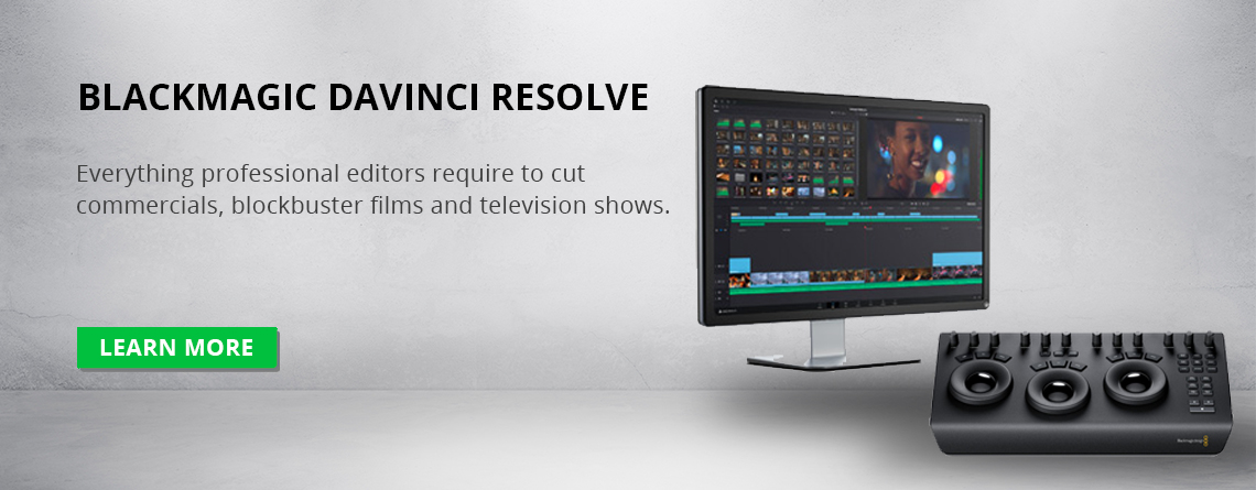 Blackmagic DaVinci Resolve Video Editor