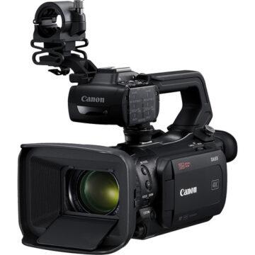 Canon XA55 Professional UHD 1CMOS Sensor 4K Camcorder