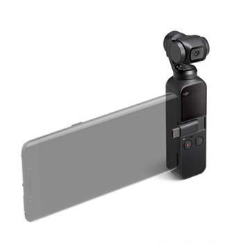 DJI Osmo Pocket 3-axis stabilised handheld camera
