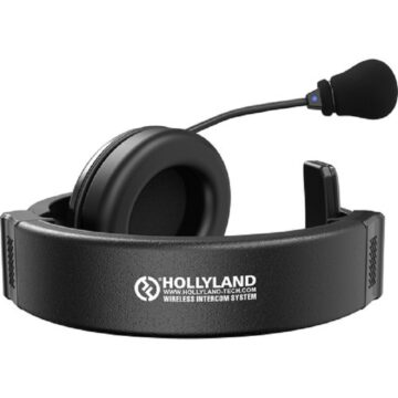 Hollyland SYSCOM 1000T 300M Full-Duplex Intercom System With Tally Headset