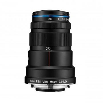 LAOWA 25mm f2.8 2.5-5X Ultra Macro Camera Lenses 1