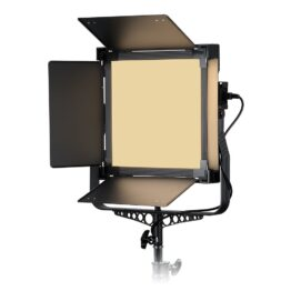 Lishuai VictorSoft 1x1 Dual Color Photo/Video LED Studio Light With Grid