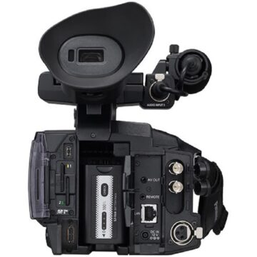 Panasonic AG-CX350 4K Professional Video Camera Back