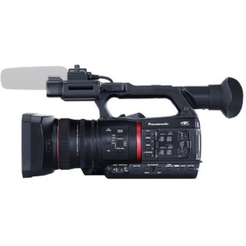 Panasonic AG-CX350 4K Professional Video Camera Side