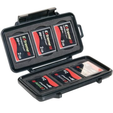Pelican 0945 Micro Memory Card Case With Cards