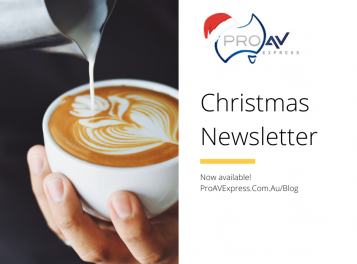 Pro AV Express Christmas eNewsletter 2019 Social Post v2