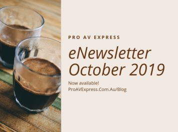Pro AV Express eNewsletter October 2019