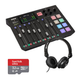 Rode CasterPro-Behringer headphones-Sandisk-card-kit