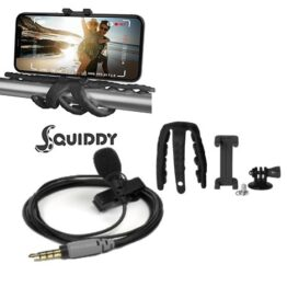 Rode Smartlav+ & Squidy iPhone tripod & mount