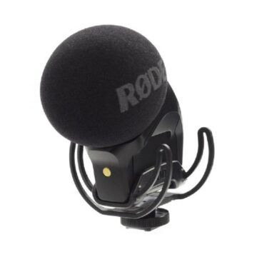 Rode Stereo VideoMic Pro Rycote On-Camera Microphone Front