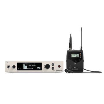 Sennheiser EW 300 G4-ME2-RC Omni Lapel Mic Presenter System