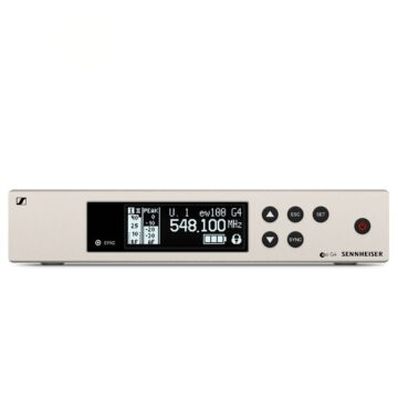 Sennheiser EW100 G4-835-S-B Wireless Vocalist System