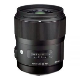 Sigma 50mm F1.4 DG HSM Art Lens with Canon EF mount