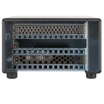Sonnet Tech Echo Express SEL Thunderbolt 2-To-PCIe Expansion Chassis (One LP Slot) Back
