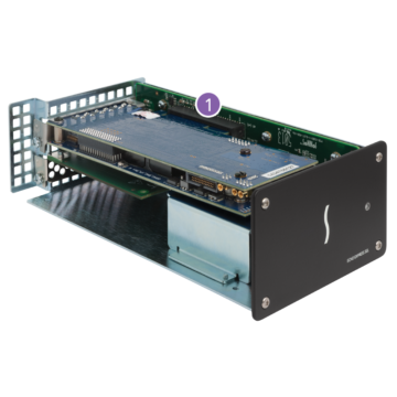 Sonnet Tech Echo Express SEL Thunderbolt 2-To-PCIe Expansion Chassis (One LP Slot) Inside
