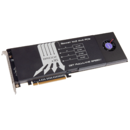 Sonnet Tech M2 4x4 PCIe Card [Thunderbolt Compatible] Hero Image