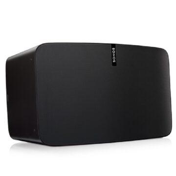 Sonos Play 5 Wireless Speakers Black Hero Image
