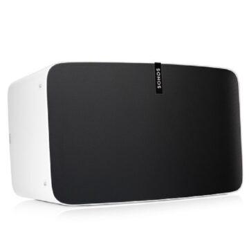 Sonos Play 5 Wireless Speakers White Hero Image