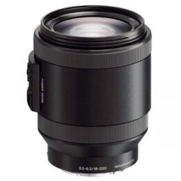 Sony 18-200 mm F3.5-6.3 E-mount Power zoom Lens