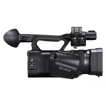 Sony Full HD NXCAM Camcorder - Side View