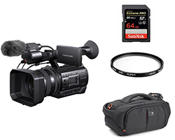 Sony HXR-NX100 Full HD NXCAM Professional Camcorder Kit