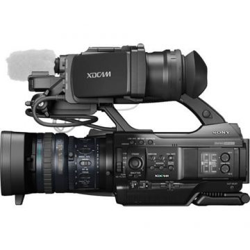 Sony PMW300K2 XDCAM HD Camcorder-Side-View