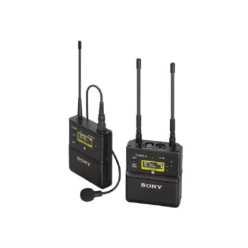 Sony UWP-D21 Bodypack Wireless Microphone Package Hero Image