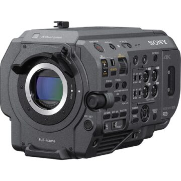 Sony XDCAM PXW-FX9 6K Full-Frame Camera System (Body Only) Main