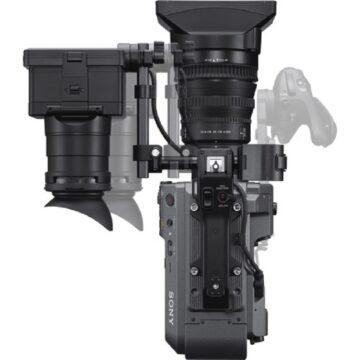 Sony XDCAM PXW-FX9K 6K Full-Frame Camera System With 28-135mm f-4 G OSS Lens (From Top)