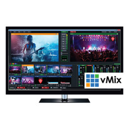 vMix Live Production & Streaming Software - Produce, Stream and Record